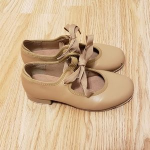 Bloch Shoes - Bloch Tan Toddler Tap Soes